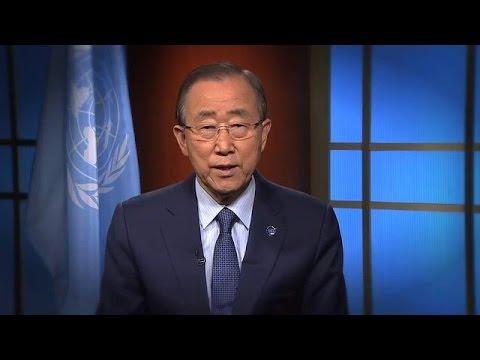 Ban Ki-moon (UN Secretary-General) on International Youth Day 2016