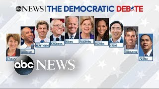 What to watch for in ABC News' Democratic debate | ABC News