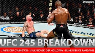 Usman beats Covington to reclaim title, Volkanovski def. Holloway | Fight Analysis | CBS Sports HQ