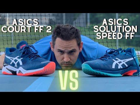 Asics Solution Speed FF vs. Solution