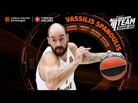 2010-20 All-Decade Team: Vassilis Spanoulis