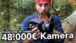 Fotografieren mit 48.000€ KAMERA 📷PHASE ONE XF 100MP