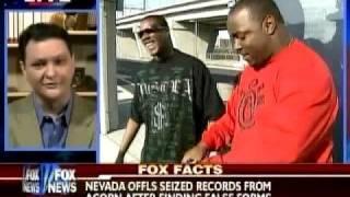 Gregory Hall on Fox News October 12, 2008