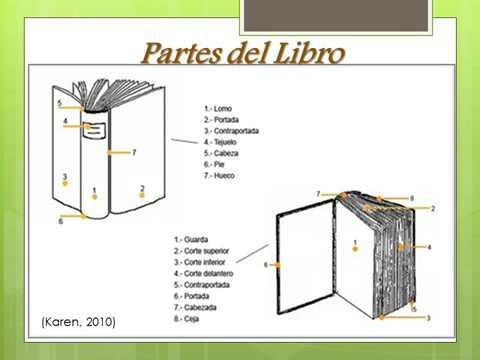 Partes del libro y sus componentes bibliogr ficos wmv for Partes de un vivero forestal