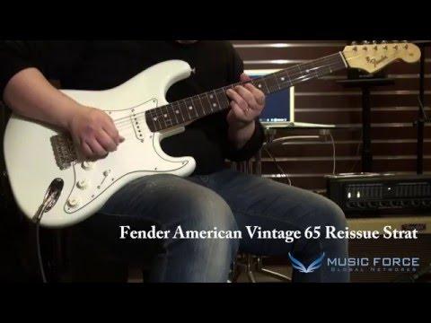Fender 65 Reissue Strat & Suhr Classic Pro & Don Grosh Retro Classic Standard - Sound Test