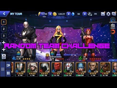Random Team Challenge - Marvel Future Fight
