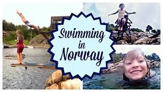 Norway Holiday Part 5 - Swimming in Norway I twoplustwocrew