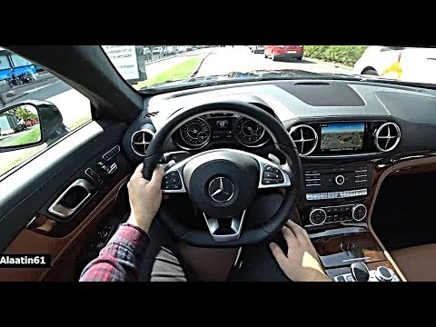 2019/2020 Mercedes SL | 4Matic NEW SL500 POV Test Drive