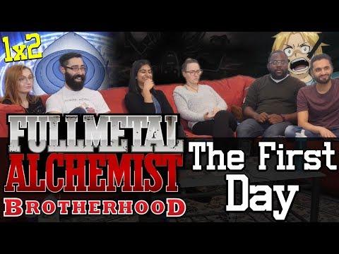 Fullmetal Alchemist: Brotherhood - 1x2 The First Day - Group Reaction!