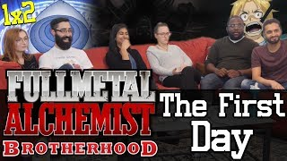 Video Fullmetal Alchemist: Brotherhood - 1x2 The First Day - Group Reaction! download MP3, 3GP, MP4, WEBM, AVI, FLV Januari 2018