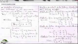 30 - Regle de calcule de la Matrice d