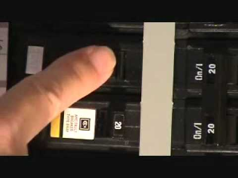 hqdefault how to reset a tripped breaker youtube fuse box trip switch will not reset at bayanpartner.co