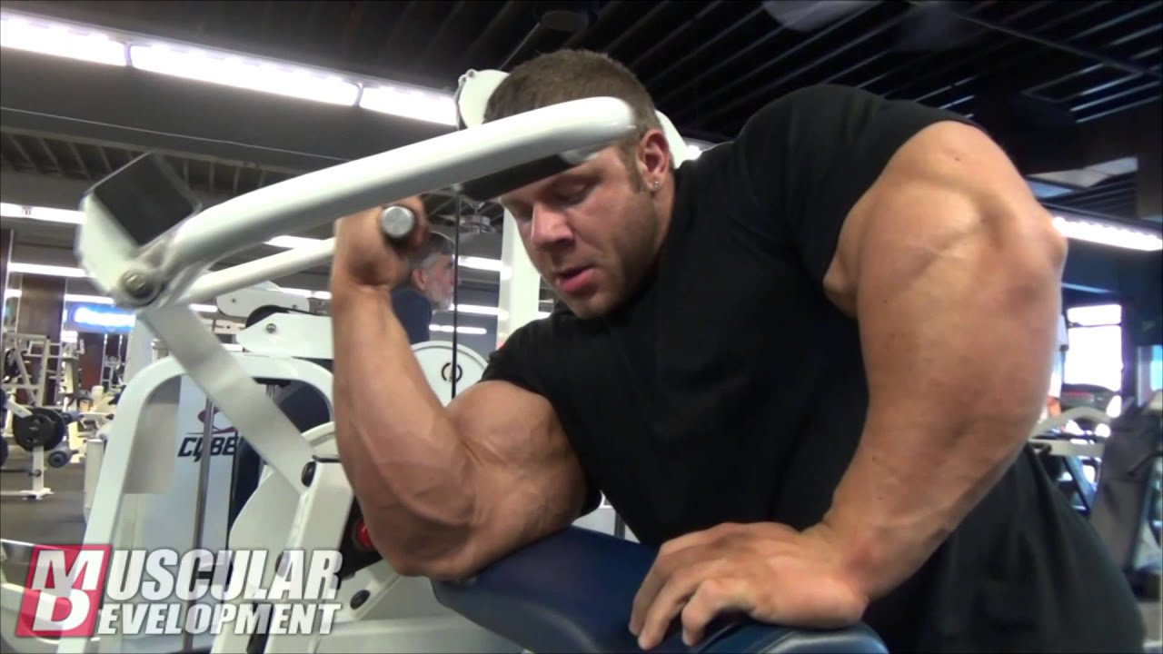 IFBB Pro Justin Compton Trains Back And Biceps - YouTube