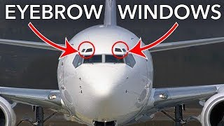 Boeing 737 EYEBROW windows? What is the purpose of them?