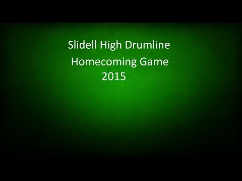 Slidell High School Drumline - Homecoming 2015