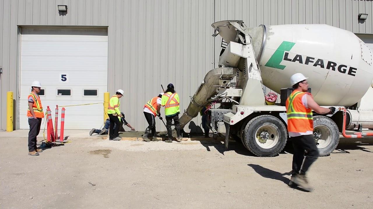 Placement: Residential Concrete Flatwork Technician course