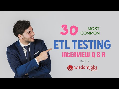 TOP 15 ETL Testing Interview Questions And Answers 2019 Part-1 | ETL Testing | Wisdom Jobs