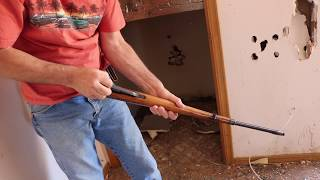 Military Rifle Found in Abandoned House