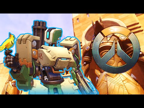 AMAZING BASTION OFFENSE ★ Overwatch (Temple of Anubis)