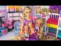 Barbie Doll LOL Rapunzel Family Has Baby Twins! Supermarket Shopping