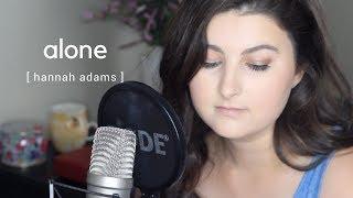 Halsey | Alone (Cover by Hannah Adams)
