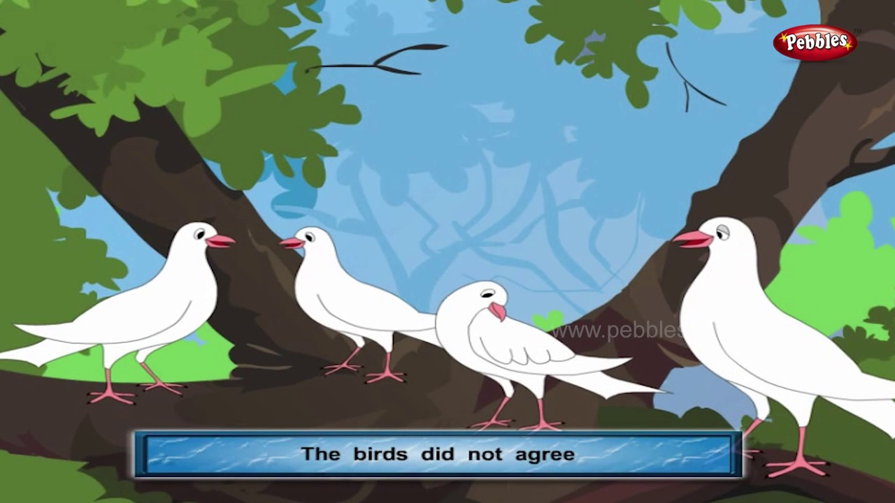 The Wise Old Bird | Panchatantra English Stories | Stories For Kids |  Stories For Children HD