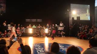 Unvsti Baby battle 2013 Semi-Finals B-Girl Terra vs B-Girl Carlota