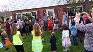 Easter Scavenger Hunt Dance Party