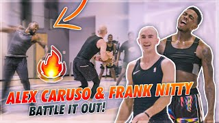 Alex Caruso And Frank Nitty Battle It Out At Pro Runs! 😱
