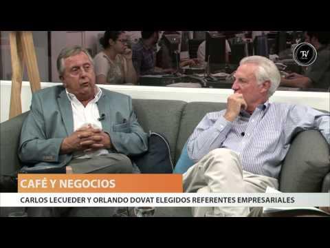 Carlos Lecueder y Orlando Dovat en El Observador TV