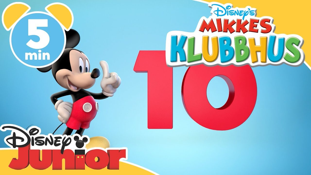 Mikkes Klubbhus | Lær deg å regne til 10! - Disney Junior Norge