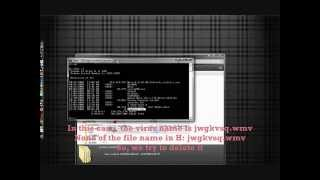 How To Delete Virus or Unwanted File Manually (using Command Prompt)