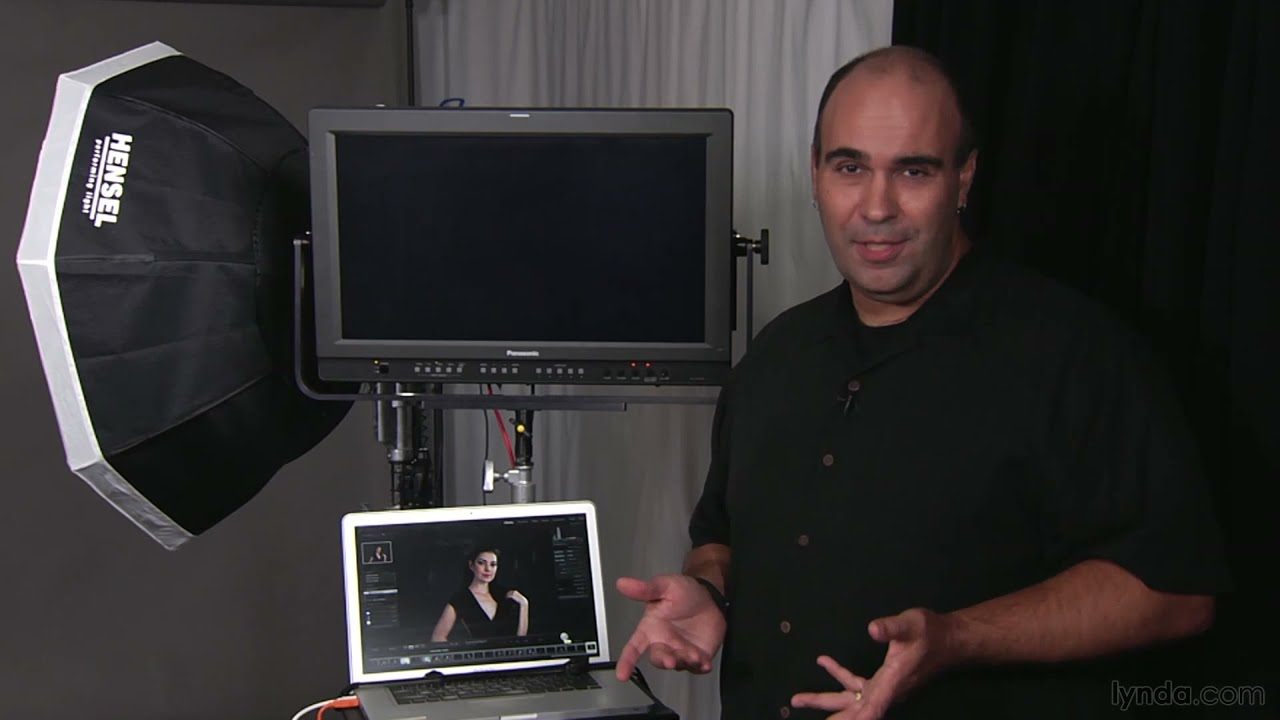 Photography gear tutorial: Tethering to a laptop | lynda ...