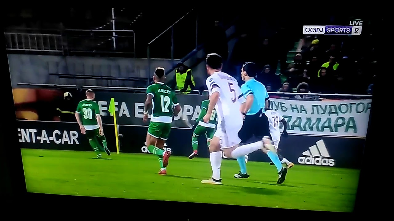 FABIO BORINI GOAL VS LUDOGORETS.