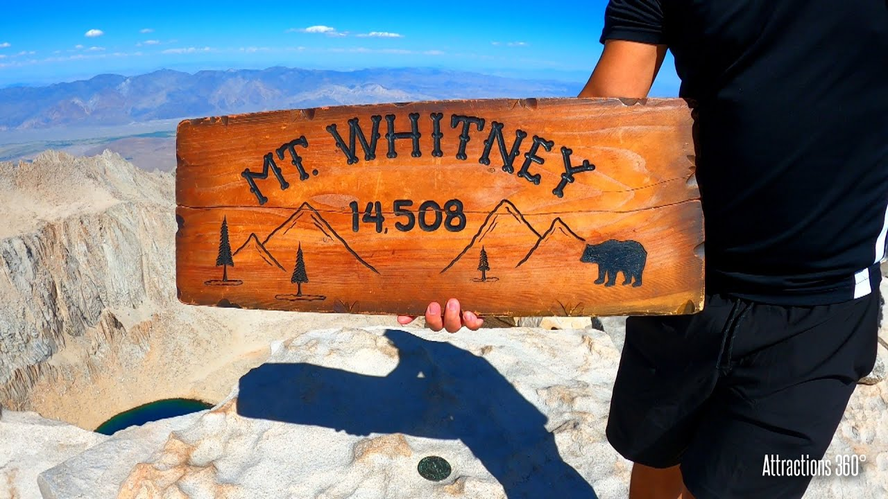 Hiking Mount Whitney - Tallest Mountain in the USA (Exclude Alaska)