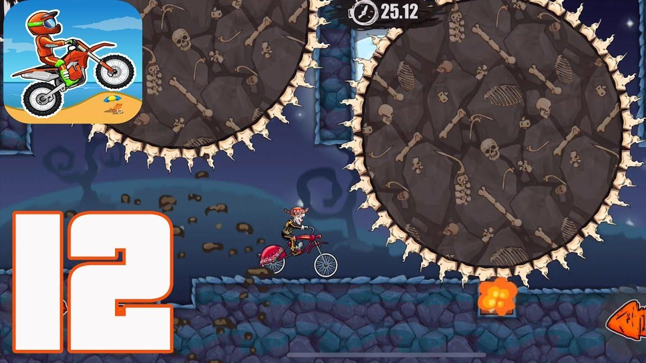 Moto X3m Bike Racing Game New Update Halloween Gameplay