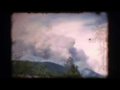 Fire on Mt Elden 1977