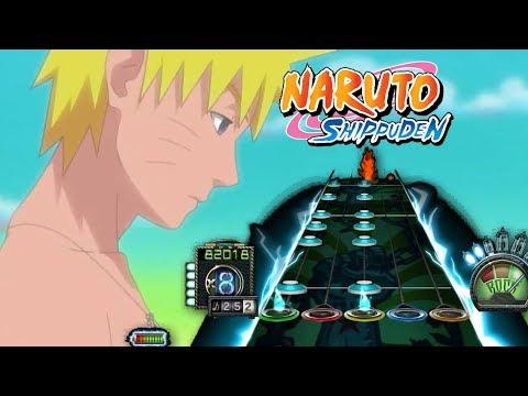 Guitar hero 3 Naruto Shippuden Opening 7 Full Toumei Datta Sekai