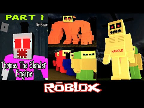 Roblox Thomas Number 1 Thomas The Slender Engine Roblox Part 1 By Notscaw Roblox Youtube