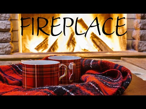 Cozy Fireplace JAZZ -  Smooth Warm JAZZ Music For Calm - Chill Out Music