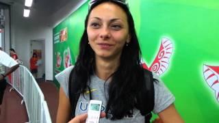 Ірина Геращенко та Юлія Левченко. Чемпіонат світу 2015. Інтерв