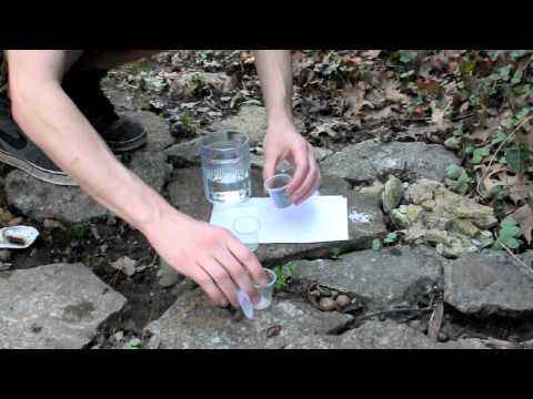 Zinc Dust: Fire From Water Aka Negative X Green Fire