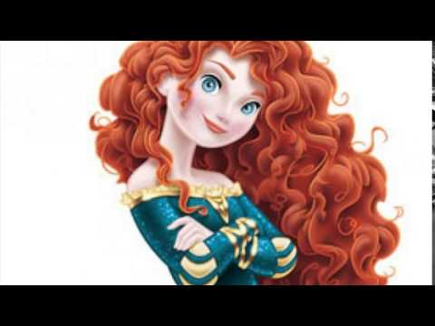 disney princess with red hair - YouTube