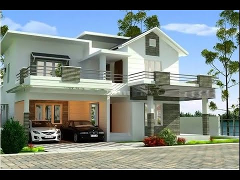 Modern House Roof Design Beautiful Flat Roof House Designs Ideas Youtube