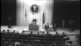 Kennedy Ansprache über und zu Telstar (1962)