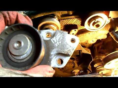 Замена помпы (насос системы охлаждения) на Chevrolet Lacetti
