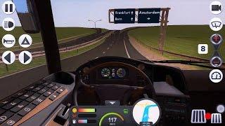 Водитель Автобуса Лучший Симулятор вождения Ездим по Европе Coach Bus Simulator Игры на Андроид