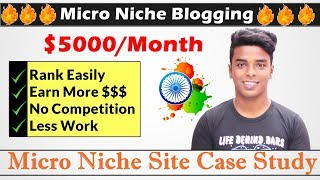 Micro Niche Blog Case Study | Earn $5000/Month By Micro Blogging