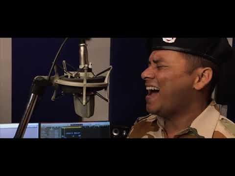 Arjun Kheriyal of ITBP sings 'Maa Tujhe Salam'