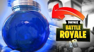 Making Fortnite Potions In REAL LIFE! (Drinkable)